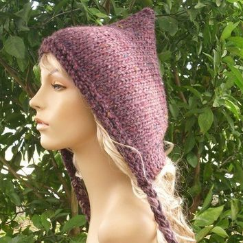 PDF Knitting Pattern for The Spring Pixie Hat by pixiebell on Etsy