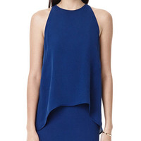 THEORY Lyall Dress in Double Georgette Silk