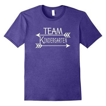 Team Kindergarten Tshirt Teacher First Day School Last