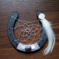 Amethyst Horseshoe Dream catcher