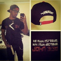 """S/O @misfitx116 in the """"HE Must Increase, bu i must ... - crossstitchapparel @ Instagram Web Interface - 5th village"""