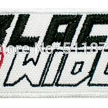 """3.5"""" Black Widow Word Marvel Comic AVENGERS AGENTS OF SHIELD Movie TV Costume Embroidered iron on patch Spider-man Homecoming"""