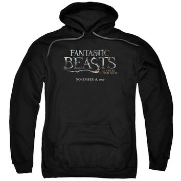 Fantastic Beasts - Logo Adult Pull Over Hoodie Officially Licensed Apparel