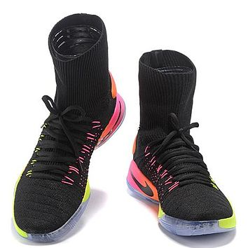 Nike Hyperdunk Flyknit 2016 Fashion Casual Socks Shoes