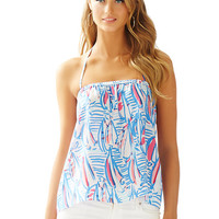Lei Lei Silk Halter Top - Lilly Pulitzer