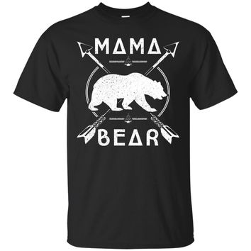 Mama Bear Vintage Retro Funny Mom T-Shirt