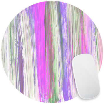 Lilac Brushstrokes Mouse Pad Decal