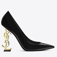 YSL 2019 new sexy super high heel shallow pointed high heels 8#