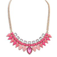 Gift Shiny Stylish Jewelry New Arrival Sweets Water Droplets Necklace [4918866564]