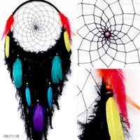 The Shaman's Journey Large Native Style Handwoven Dreamcatcher