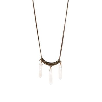 By Aqua Luna  Crystal Necklace