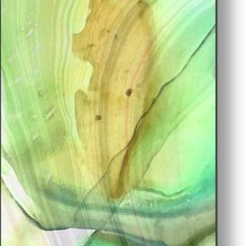 Abstract Art - Calm - Sharon Cummings Metal Print