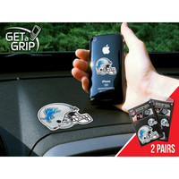 Detroit Lions NFL Get a Grip Cell Phone Grip Accessory (2 Piece Set)