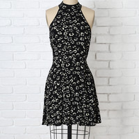 Zadie Floral Fit-and-Flare Dress