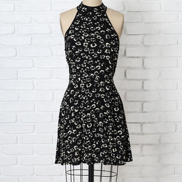 Zadie Floral Fit-and-Flare Dress-FINAL SALE