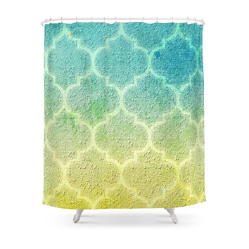 Society6 Moroccan Inspiration Shower Curtains