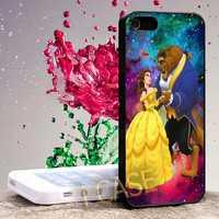 beauty and the beast Hard cover plastic for iphone 4, iphone 5, samsung s3 i 9300, samsung s4 i 9500