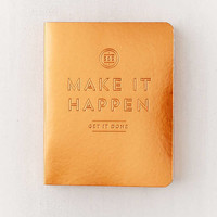 Metallic Mini Pocket Planner | Urban Outfitters