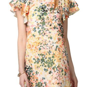 Donna Morgan Flutter Sleeve Shift Dress | Nordstrom
