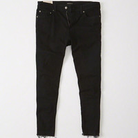 Mens Cropped Athletic Skinny Jeans   Mens New Arrivals   Abercrombie.com