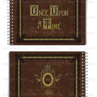 Once upon a time notebook // Henry's Storybook // OUAT