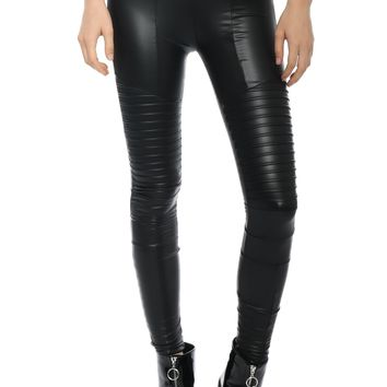 Plush Liquid Moto Leggings