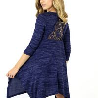 Kayla Crochet Sweater Dress