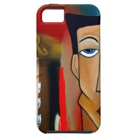 merger-abstract art iPhone SE/5/5s case