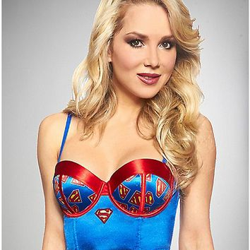Superman Bralette - Spencer's