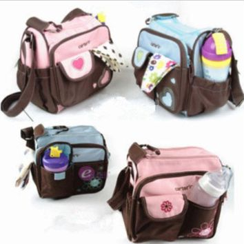 PEAPUG3 fashion multifunctional package baby diaper bags nappies mummy bag maternity handbag shoulder bag tote messenger bags = 1946455428