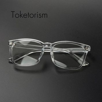 2d74db7d511 Toketorism Clear fashion vintage hipster eyeglasses brand design