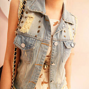 Denim Casual Autumn Jeans Jacket