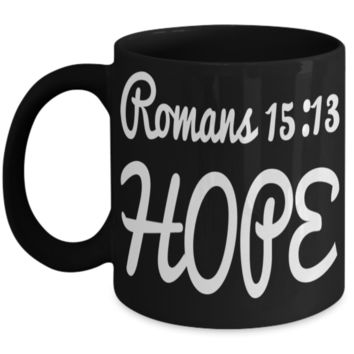 Jesus God Catholic Religious Coffee Mug Inspirational Tea Cup for Christians Gifts For Easter Holiday Best Bible Verse Gift Ideas For Him Her