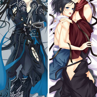 New Yaoi Male Character Anime Dakimakura Japanese Hugging Body Pillow Cover MGF-59023
