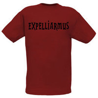 Harry Potter Expelliarmus Spell Adult T-Shirt