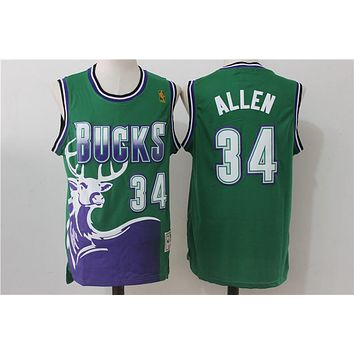 Milwaukee Bucks 34 Ray Allen Swingman Jersey