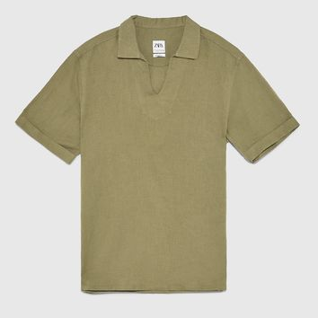 RUSTIC POLO SHIRT