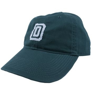 Dartmouth College Needlepoint Hat in Hunter Green by Smathers & Branson