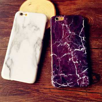 Marble iPhone creative case