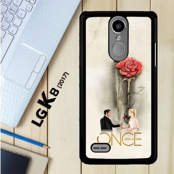 Once Upon A Time Rose X3423 LG K8 2017 / LG Aristo / LG Risio 2 / LG Fortune / LG Phoenix 3 Case