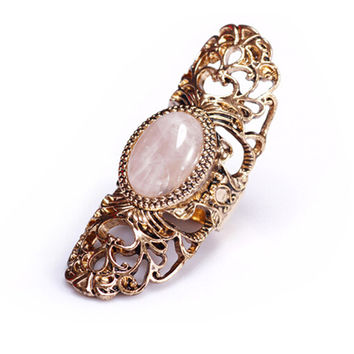 Stone Set Baroque Ring