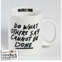 Natural Life Mug - Do What