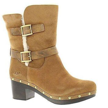 Ugg Women's Brea Boot Ugg Snow Boots - Beauty Ticks