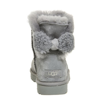 UGG Arielle Bow Boots Geyser - Ankle Boots