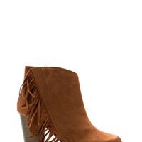 Western Fringe Chunky Booties