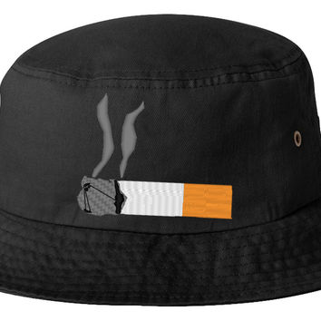 cigaret emoji bucket hat