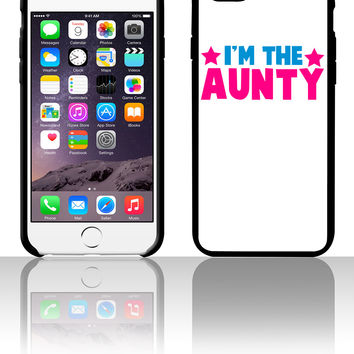 new i'm the aunty aunt with cute little stars 5 5s 6 6plus phone cases
