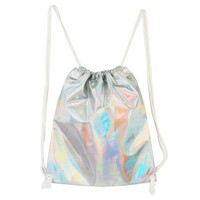 Silver String Bag from Inu Inu