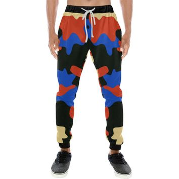 Modern Camouflage Camo Joggers Sweatpants For Men