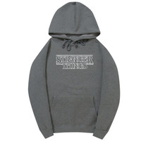 Stranger Things Dark Gray Hoodie